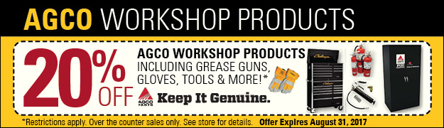 AGCO workshop products