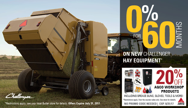 Hay Equipment Offer - Workshop Products