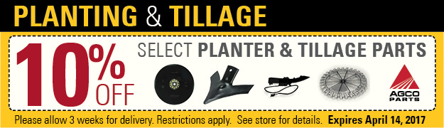 Planting and Tillage