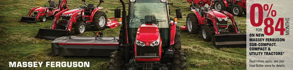 Massey Ferguson 0% for 84 Months