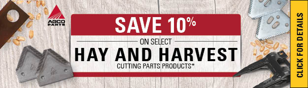 AGCO Hay Cutting Parts Products