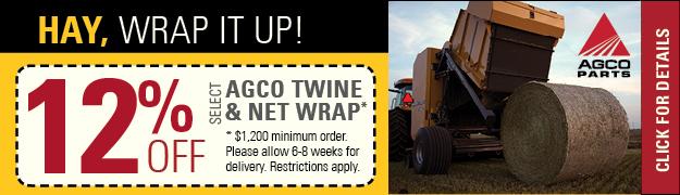 AGCO Twine and Net Wrap