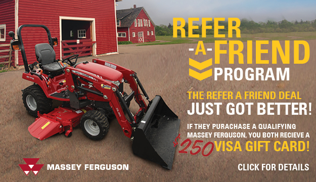 Massey Ferguson refer a Friend $250