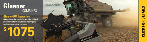 Planned Maintenance Inspections Gleaner Combine
