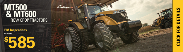 Planned Maintenance Inspections Challenger Row Crop Tractors