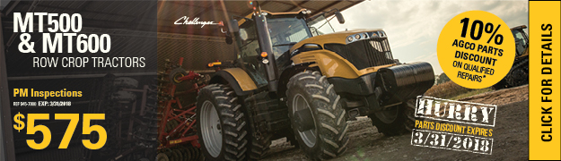 Challenger Row Crop Tractor Planned Maintenance Inspection