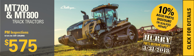 Challenger Track Tractor Planned Maintenance Inspection