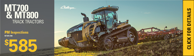 Planned Maintenance Inspections Challenger Track Tractors