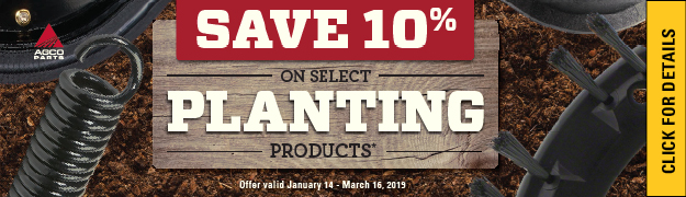 Save 10 Percent Planting