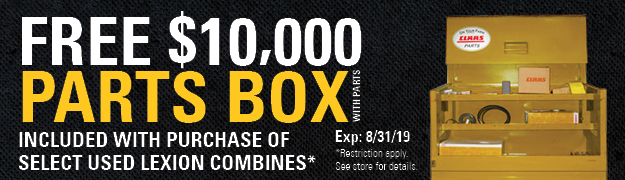 Free $10,000 Parts Box with Parts