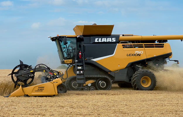 Used Lexion Combines
